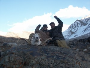Marco Polo sheep hunt with Sergei Shushunov